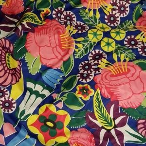 Like New! Lush Life Flower Power Knot Wrap / Scarf